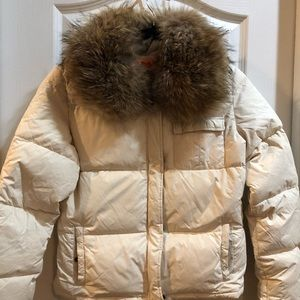 Juicy Couture Puffer w/ real fox fur